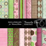 Tweetle Dee Paper Pack-$4.00 (Paula Phillips)