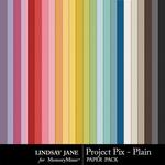 Project Pix Plain Paper Pack-$1.99 (Lindsay Jane)