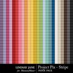 Project Pix Stripe Paper Pack-$1.99 (Lindsay Jane)