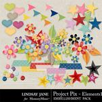 Project Pix Embellishment Pack-$3.49 (Lindsay Jane)