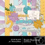 Bright Beginning Mini Pack-$3.99 (Julie Klaus)