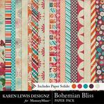 Bohemian bliss paper pack small
