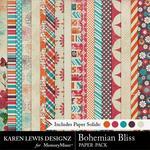 Bohemian Bliss Paper Pack-$3.99 (Karen Lewis)