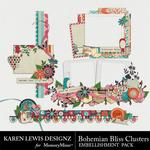 Bohemian bliss cluster pack small