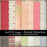 Animal Attraction Basics Paper Pack-$3.49 (Fayette Designs)