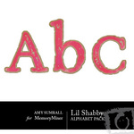 Lil Shabby Alphabet Pack-$1.00 (Amy Sumrall)