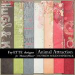 Animal Attraction HotMess Solids Paper Pack-$2.99 (Fayette Designs)