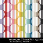 Project Pix Big Circle Paper Pack-$1.99 (Lindsay Jane)