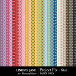 Project Pix Star Paper Pack-$1.99 (Lindsay Jane)