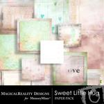 Sweet Little Hug Paper Pack-$2.00 (MagicalReality Designs)