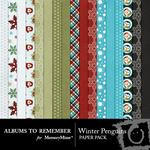 Winter Penguins Paper Pack-$3.99 (Albums to Remember)