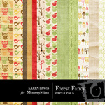 Forest Fancy Paper Pack-$4.00 (Karen Lewis)