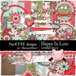 Happy In Love Combo Pack-$4.99 (Fayette Designs)