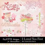 I Loved You First Big Fancies Pack-$3.99 (Fayette Designs)
