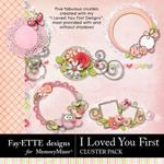 I Loved You First Cluster Pack-$3.49 (Fayette Designs)
