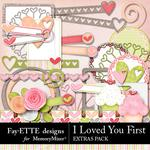 I Loved You First Extras Pack-$2.99 (Fayette Designs)