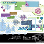 Extreme Winter 1 Embellishment Pack-$3.50 (Bevin Dunn)