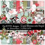 Cupid Rhymes with Stupid Combo Pack-$7.99 (Fayette Designs)