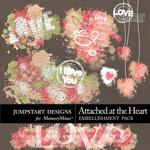 Attached at the Heart Splatters Pack-$1.75 (Jumpstart Designs)