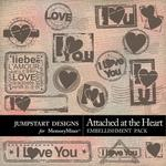 Attached at the Heart Stamps Pack-$1.20 (Jumpstart Designs)