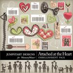 Attached at the Heart Spare Parts Pack-$2.49 (Jumpstart Designs)