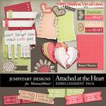 Attached at the Heart Journal Bits Pack-$2.99 (Jumpstart Designs)