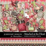 Attached at the Heart Add On Mini Pack-$3.49 (Jumpstart Designs)