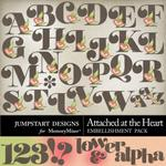Attached at the Heart Alphabet Pack-$0.99 (Jumpstart Designs)