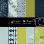 Boulevard Paper Pack-$4.00 (My Minds Eye)
