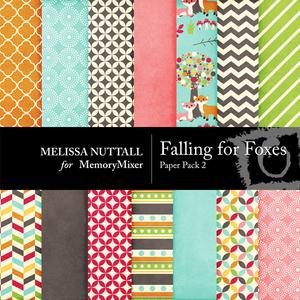 Falling for foxes paper pack 2 preview medium