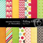 Falling For Foxes Paper Pack 1-$1.99 (Melissa Nuttall)