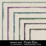 Purple Rain Glitter Edges Pack-$1.00 (Lindsay Jane)