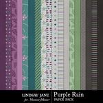 Purple Rain Paper Pack-$2.49 (Lindsay Jane)