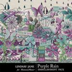 Purple Rain Embellishment Pack-$1.75 (Lindsay Jane)