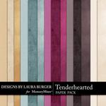 Tenderhearted Solids Paper Pack-$1.99 (Laura Burger)