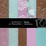 Bella Paper Pack-$4.50 (My Minds Eye)