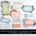 A Little Birdie Told Me Journal Pack-$1.99 (Laura Burger)