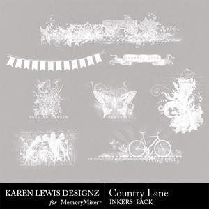 Country lane inkers pack medium
