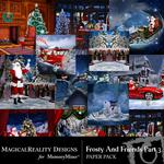 Frosty and Friends Paper Pack 3-$3.99 (MagicalReality Designs)
