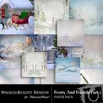 Frosty and Friends Paper Pack 2-$3.99 (MagicalReality Designs)