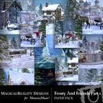 Frosty and Friends Paper Pack 1-$3.99 (MagicalReality Designs)