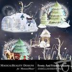 Frosty and Friends Cluster Pack 4-$1.99 (MagicalReality Designs)