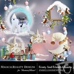 Frosty and Friends Cluster Pack 3-$1.99 (MagicalReality Designs)