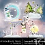 Frosty and Friends Cluster Pack 2-$1.99 (MagicalReality Designs)