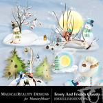 Frosty and Friends Cluster Pack 1-$1.99 (MagicalReality Designs)