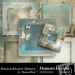 Moments In Time Layered Paper Pack-$3.99 (MagicalReality Designs)