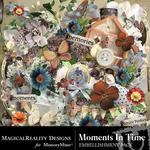 Moments In Time Embellishment Pack-$3.49 (MagicalReality Designs)