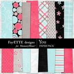You FD Paper Pack-$2.99 (Fayette Designs)