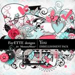 You FD Embellishment Pack-$3.49 (Fayette Designs)