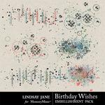 Birthday Wishes Scatterz Pack-$1.99 (Lindsay Jane)